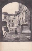 Italy Gimignano Piazza Vittorio Emanuelle dall'Arco di San Giova