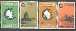 INDONESIA INDONESIË 1963 ZBL 383-86 MNH ** - Indonesië