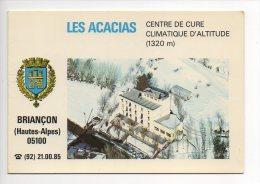 0501 - Briançon - Hautes Alpes - Les Acacias - Centre De Cure D'altitude - Carte Double - Briancon