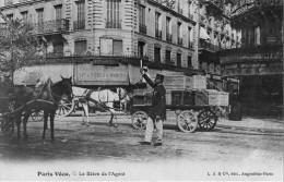 75 PARIS VECU Reproduction N°2 Le Baton De L'Agent - Petits Métiers à Paris