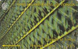 TONGA(GPT) - Textures Of Tonga 1(green), CN : 285CTGA, Tirage 5000, Used