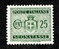 3849x)  Italy 1947 - Sc# J-55 ~ M* - 4. 1944-45 Social Republic
