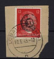 Lokalausgaben Löbau Michel No. 27 Gestempelt Used - Zona Sovietica