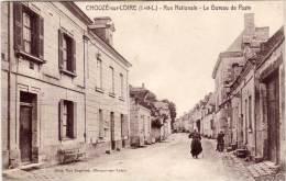 CHOUZE SUR LOIRE - Rue Nationale - Le Bureau De Poste  (61072) - Other Municipalities