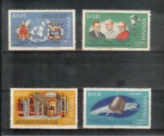 Panama - Pape Paul VI - Yv 380-383 ** MNH Postfrisch - Panama