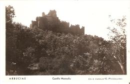POSTAL DE ARBUCIAS DEL CASTILLO DE MONTSOLIU - Gerona