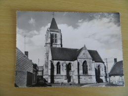 Cp     Brunvillers   La   Motte  -  L' église . - Francia
