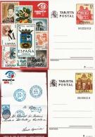 Spanien 1984 - Espana 84, 2 Stück Postkarten Mit Ganzsache ** - 1981-90 Briefe U. Dokumente