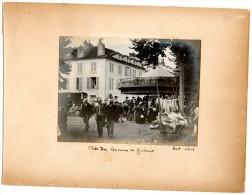 Gannat : Photo De Manege Datée De 1901 - Lieux
