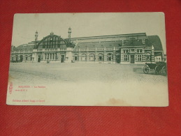 MECHELEN  - MALINES -   De Statie  -  La Gare   -  1903 - Malines