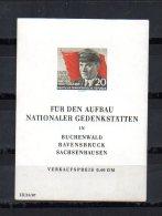 República Democrática   1956  .-   Y&T Nº    8   Block    ** - [6] Oost-Duitsland