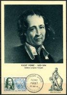N° 1296 Sur Carte Maximum / Puget - Maximum Cards