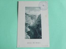 CONSTANTINE - Pont D'EL KANTARA - Constantine