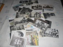 LOT DE 210 CARTES  CPA ET  CPSM -  - PETITES CARTES VILLES VILLAGE - Postcards