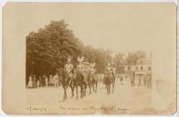 94 ST MAUR UN CIRQUE EN 1909 CARTE PHOTO - Saint Maur Des Fosses