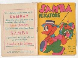 PFN/49 Albo SAMBA PESCATORE N.2 Edizioni Gennari 1950/FUMETTI BIZEN - Classici 1930/50
