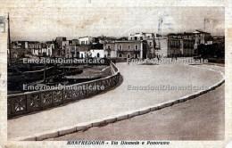 Manfredonia Foggia Via Diomede E Panorama - Foggia