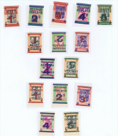 Poland: Camppost Set MH/* Misprints Etc. - Unused Stamps
