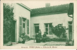 10-piney-villa De M.michel,animé -rare - Non Classés