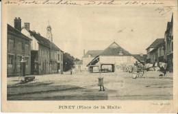 10-piney-place La Halle,animé,attelage-rare - Non Classés