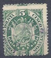 131006221  BOLIVIA  YVERT   Nº  9 - Bolivia