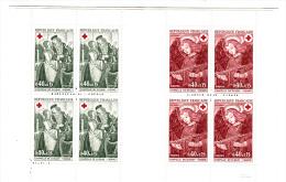 Carnet Croix Rouge 1970 YT N°2019 (2x4 TP) - Booklets