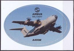 Autocollant Airbus Military - Avion De Transport Militaire A400M - Aviation