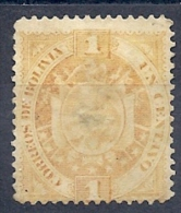 131006228  BOLIVIA  YVERT   Nº  39  (LIGHT PEELING)   (*) - Bolivie