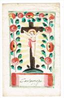 "IMAGE RELIGIEUSE Colorisée, 11,8 X 7,4 Cm, ""Corlma.."" - Devotieprenten"