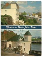 CP, 44, NANTES, Le Musée Jules Verne, Multivues, Vierge, Ed : Pierre ARTAUD Et Cie - Nantes