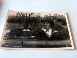 Carte Postale Ancienne : ZWEIBRUCKEN : Rosengarten - Zweibruecken