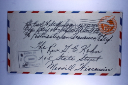 US  Postal Stationary Airmail Cover APO 159, Dutch New Guinea To  Wisconsin Sep 1944 - Verenigde Staten