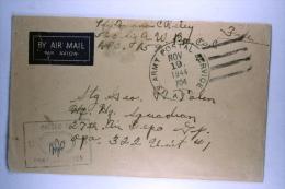US  Airmail Cover APO 704, Pilfoera, Noemfoor Island To APO 332  Dreger Harbour On  Dutch New Guinea RRR - Verenigde Staten
