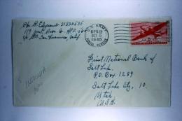 US  Airmail Cover BPO 13, Biak On Dutch New Guinea, 119Th Chemical Process Company, To Salt Lake City USA - Verenigde Staten