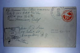 US  Postal Stationary Cover  APO 926, Morotai On Dutch New Guinea, HQ 13th AF, - Verenigde Staten