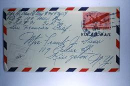 US  Airmail Cover, APO 704, Unit 2, Noemfloor  Dutch New Guinea To USA - Verenigde Staten