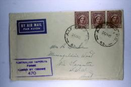 Australian Imperial  Airmail Cover, A.I.F. Field P.O. 53 Kairi, Via Calcutta To NSW, July 1945