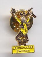 Pin's Suède - Lannavaara - Villes