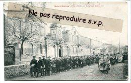 Saint-Estève - ( Pyr.-Or. ), Groupe Scolaire, Les Enfants, éditeur Fau, Série N. B, Rouge, Non écrite TBE, Scans. - France