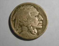 1913 T2 Buffalo Nickel - 1913-1938: Buffalo