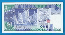 SINGAPUR - SINGAPORE -  1 Dolar  ND  SC  P-18 - Singapore