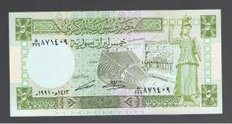 SIRIA / SYRIA - 5 Pound   1991 Sc  P-100 - Syrie