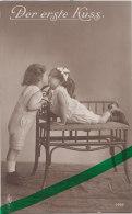 """""""Der Erste Kuss"""", Junge Und Mädchen """", Um 1910 - Paare"""