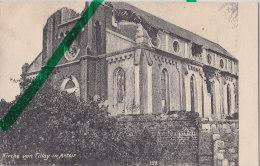 Tilloy In Artoir, Zertstörte Kirche, Um 1917 - Weltkrieg 1914-18