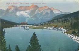 Lago Di Misurina Con Sorapis (B. Lehrburger, Nürberg, N° 16958) - Belluno