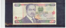 KENIA  , KENYA    ,    100 Shillings      1.july 1998 - Kenia