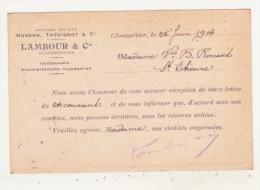 CLOSMORTIER - ANCIENNE SOCIETE HUSSON, THEVIGNOT & Cie - LAMBOUR & Cie SUCCESSEURS - - Saint Dizier
