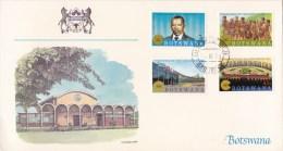 Botswana 1983 Commonwealth Day - History & Heritage Fleetwood FDC - Botswana (1966-...)