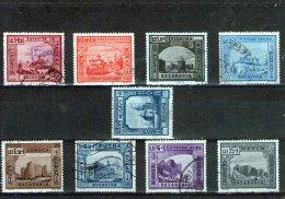 1941 - Secours D Hiver La Bessarabie Et La Bucovine Yv 661/669 - Gebraucht