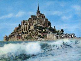 (358) France - Mont Saint Michel (older Card) - Monuments